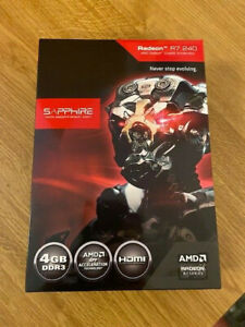 Sapphire Radeon Grafikkarte R7 240 / 4 GB DDR3