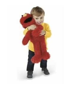 "❤️NEW PLAY ALL DAY ELMO- Talking Plush 22"" Stuffed Toy Play Games Sesame Street"