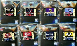 """2019 2020 NFL Divisional """"I Was There!"""" Ticket Pin Choice Super Bowl 54 LIV 49er"""