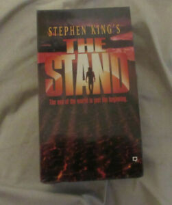 The Stand VHS 2 tape set