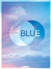 K-POP B.A.P (BAP) 7th Single Album [BLUE] B Ver. CD+Photobook+Photocard Sealed