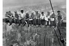 Lunch On A Skyscraper Men On Girder Poster New York