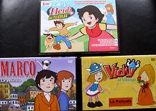 HEIDI, MARCO, VICKY EL VIKINGO (PELÍCULAS)- MIYAZAKI - DVD - NUEVO - MUCHOCHISME