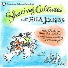 Sharing Cultures With Ella Jenkins JENKINS,ELLA Audio CD