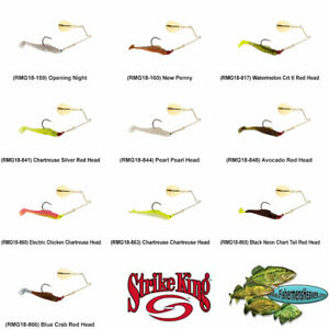 Strike King Redfish Magic 1/8oz Pick Any 10 Colors RMG18 Saltwater Spinnerbait