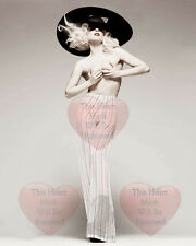 Lady Gaga Celebrity Singer 8X10 GLOSSY PHOTO PICTURE IMAGE lg22