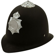 Childs Police Hat Fancy Dress Accessory Cop Bobby Kids Boys Girls Officer