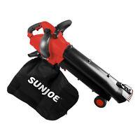 Sun Joe 3-in-1 Electric Blower   250 MPH   13 Amp   Vacuum   Mulcher