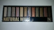 RK By Kiss Natural Ways Eyeshadow Paletes 12 Cores Shades Paleta de Sombra Ruby