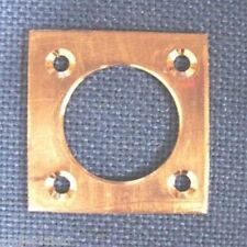Copper Nestbox Hole Protector plates 32mm size,Sparrows Great Tit etc