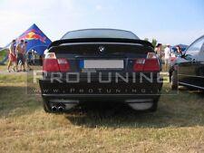 Trunk Spoiler for BMW E46 4D Saloon Boot ducktail lip add on sedan wing trim