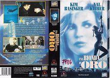 UNA BIONDA TUTTA DORO (1993) vhs ex noleggio