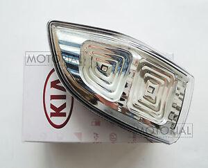 2009-2014 KIA SEDONA CANIVAL Genuine OEM LED Mirror Repeater Lamp Assy RH 1pc