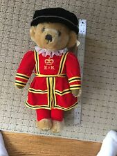 Royal Beefeater Teddy Bear Merrythought British mohair England plush