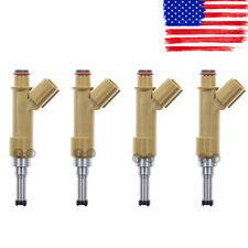 4pcs Fuel Injector for Toyota Matrix Corolla 09-15, Scion xD 08-09 1.8 1.8L
