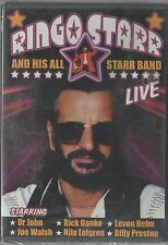 RINGO STARR AND HIS ALL STARR BAND LIVE DVD  BEATLES SEALED!!!