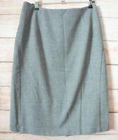 Veronika Maine Pencil Skirt Size 10 Black White Grey