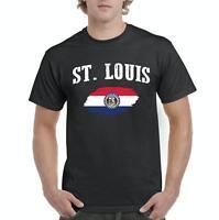 St. Louis Missouri Men Shirts T-Shirt Tee