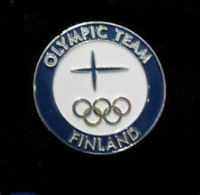 PyeongChang  2018 Olympic FINLAND NOC delegation team dated pin RARE pin