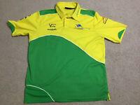 A1 GP Australia Short Sleeve Polo Shirt Vintage 2005-2009 Retro Size Medium