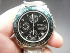 Orologio Cronografo Data BREIL MANTA Uomo WR100 Nuovo No Scatola NOS Vintage