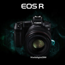 Canon EOS R Mirrorless 30.3 Megapixel Full Frame Only Body 4K Touch LCD Dual AF