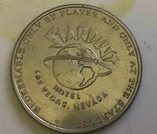 STARDUST HOTEL & CASINO one dollar $1 CASINO GAMING SLOT TOKEN 1965