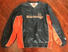 Boys Chicago Bears Pullover Jacket 12/14 Athletic NFL Lined