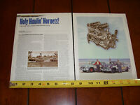 HUDSON HORNET NASCAR RACE CAR ORIGINAL 2007 ARTICLE