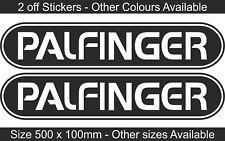 Palfinger Gru idraulica | Adesivo Decalcomania Grafica | Vari Colori | BB185