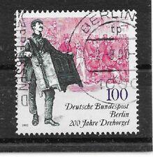 i634 BERLIN/ Musik-Drehorgel MiNr 872 o