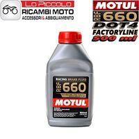 Motul RBF 660 Huile Liquide freins Racing DOT4 500 ml Synt 100% Brake Fluid