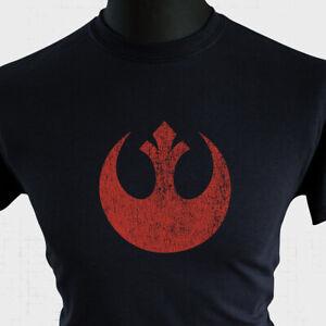 Rebel Alliance Symbol Star Wars T Shirt Retro Movie Vintage Rebellion Empire