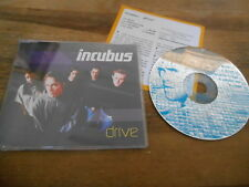 CD Pop Incubus - Drive (5 Song) MCD SONY EPIC IMMORTAL sc +Presskit