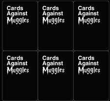 Cards Against Muggles - Harry Potter Version Of Cards Against Humanity