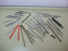 Colección herramienta Relojero, destornilladores, ölgeber, cuchillas, etc., swiss made
