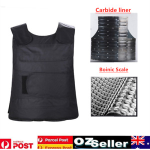 Anti-stab Body Armour Vest Ballistic Security For Men Safe Keep Knife Stab Proof
