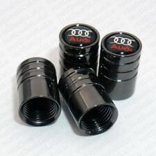 4 x Deluxe Audi Tyre Valve Dust Caps Alloy Wheel New A4 A5 A6 A3 Q7 Q5 S Line