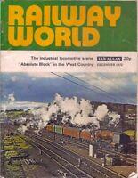 railway world-DEC 1972-LMR CORONATION PACIFIC no.46244.