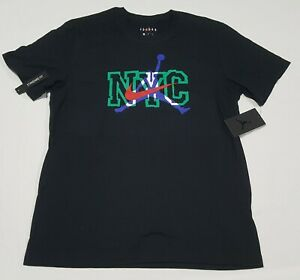 Nike Air Jordan NYC Men's Short-Sleeve T-Shirt Black CZ6000-010