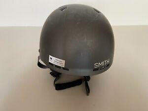 Smith Holt Ski Snowboard Snow Helmet Adult Medium 55-59 cm Matte Charcoal Gray