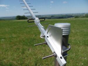 Antenne 2-teilig 2,4 GHz geostationären Sat. Hailsat 2 Es'hail-2 Qatar OSCAR-100