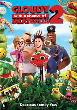 Cloudy with a Chance of Meatballs 2 (DVD,2013)