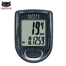 CATEYE Bike Bicycle Cycling Odometer Speedometer Passometer Waterproof VELO5_Ig
