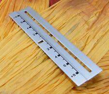 PLATE PITCH SILVER TURNTABLES TECHNICS 1200/1210 MK2,MK3,M3D,MK4,MK5,MK6,LTD/DJ