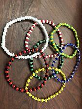 Santeria,obattala,Orula,o chun,Oggun,elegua 7 Pack Ilde Already Blessed Bracelet
