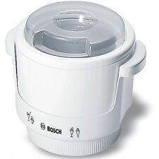 Bosch MUZ4EB1 Weiss-Transparent Elektro-Klein Eisbereiter für Küchenmaschinen