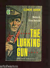 F-116 THE LURKING GUN  C. Hardin + DEADMAN CANYON Louis Trimble  SB Ace Dbl