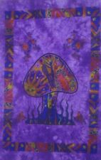 Psychedelic Mushroom Tapestry Wall Hanging Hippie Wall Poster Art Bohemian Decor
