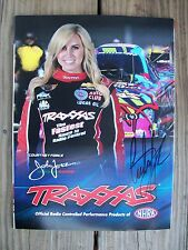 NHRA Courtney Force Nitro Funny Car Signed Autographed Traxxas RC Magazine 2015